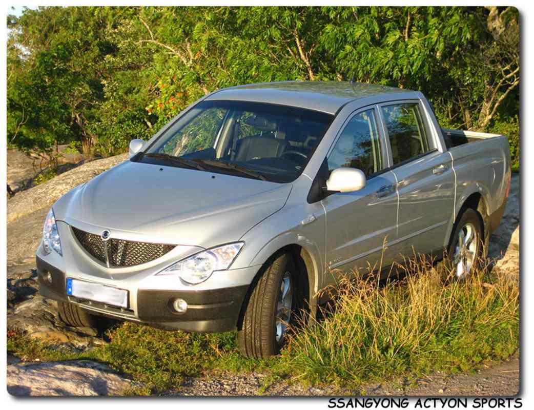 SsangYong Actyon 2.3 2002 photo - 9