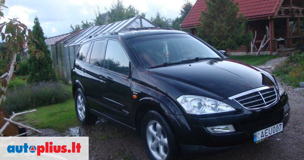 SsangYong Kyron 2.7 2007 photo - 1