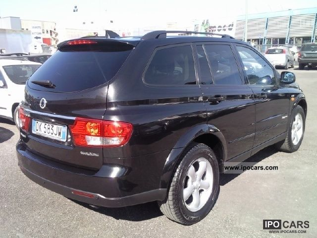 SsangYong Kyron 2.7 2007 photo - 2