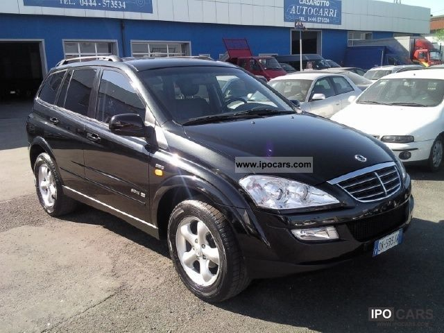 SsangYong Kyron 2.7 2007 photo - 4