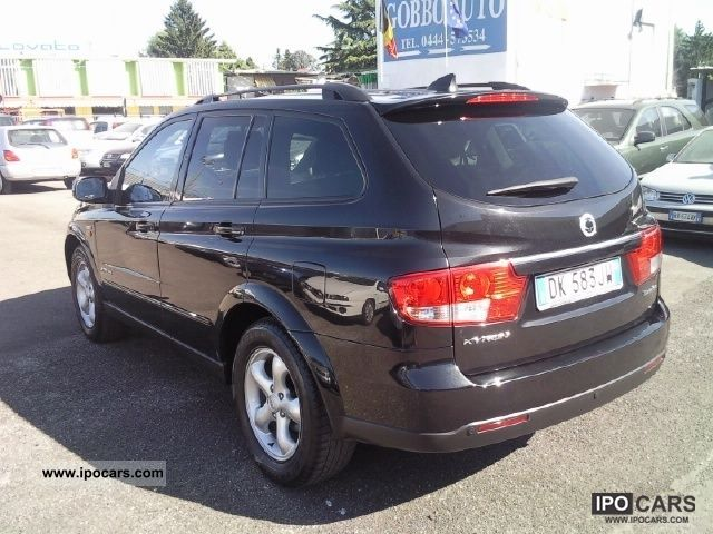 SsangYong Kyron 2.7 2007 photo - 6
