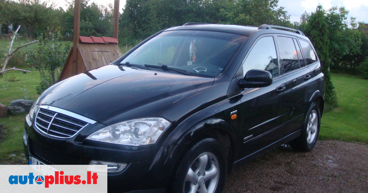 SsangYong Kyron 2.7 2007 photo - 7