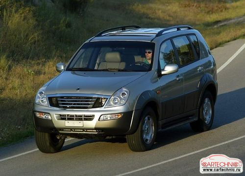 SsangYong Rexton 2.3 2002 photo - 4