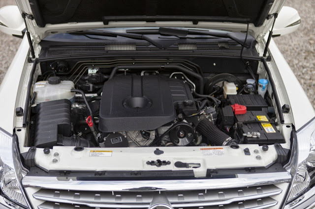 SsangYong Rexton 2.7 2014 photo - 5