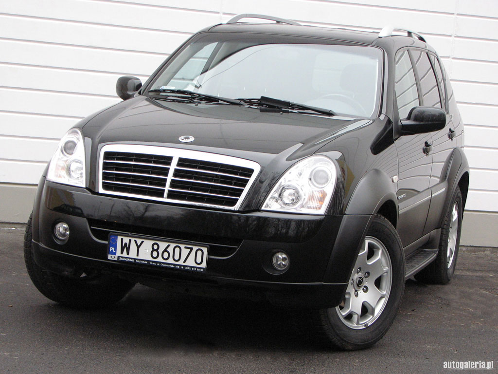 SsangYong Rexton 2.8 2001 photo - 4