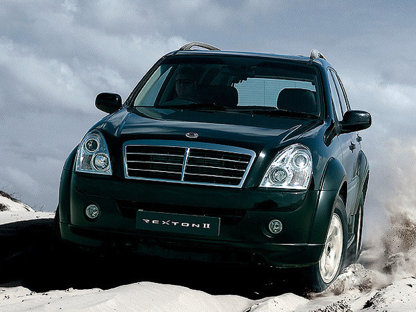 SsangYong Rexton 2.8 2001 photo - 9