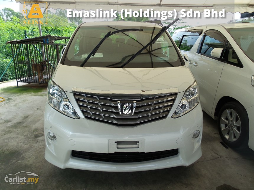 Toyota Alphard 2.4 2011 photo - 3