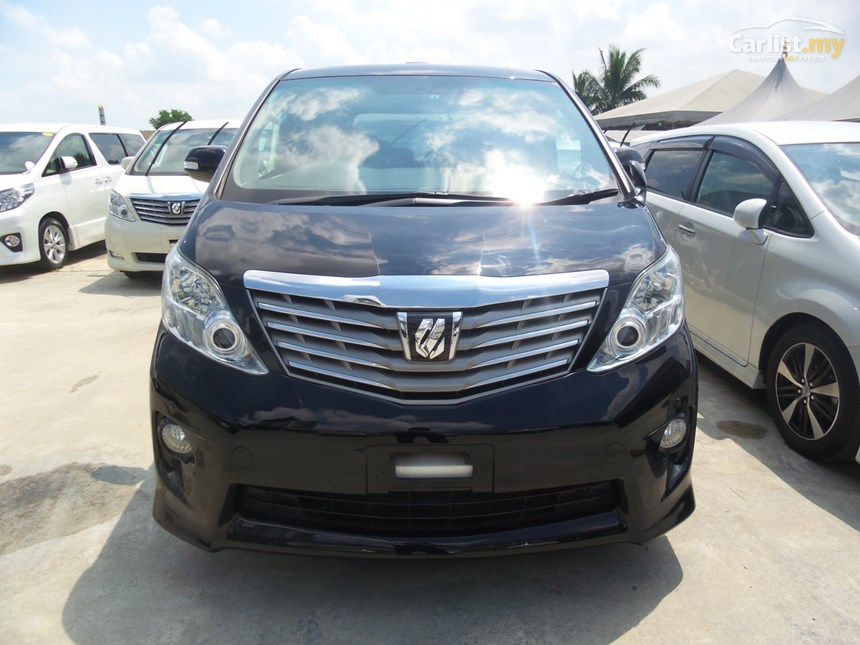Toyota Alphard 2.4 2011 photo - 8