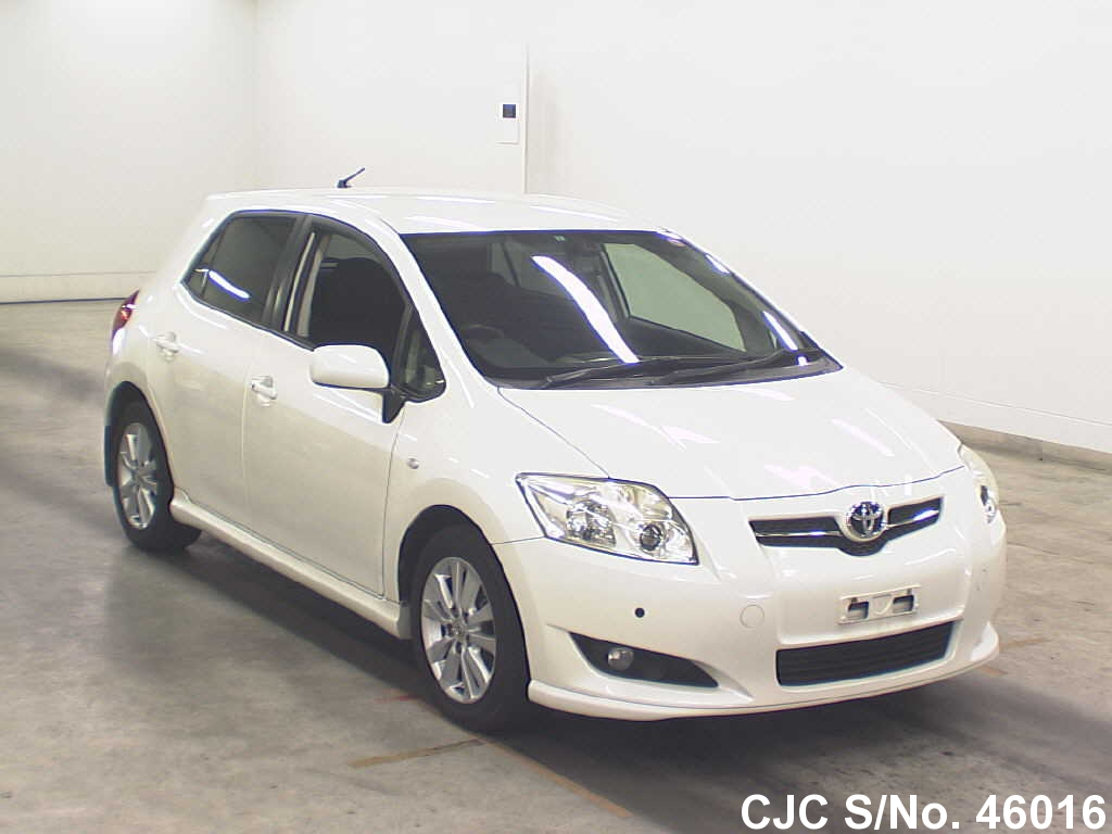 toyota auris 1 8 2007 technical specifications interior and exterior photo. Black Bedroom Furniture Sets. Home Design Ideas