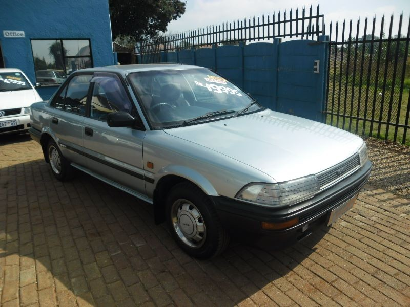 Toyota Corolla 1.3 1991 photo - 4