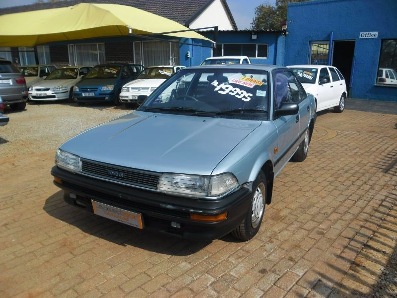 Toyota Corolla 1.3 1991 photo - 5