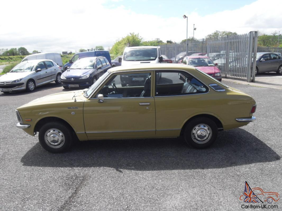 Toyota Corolla 1.4 1974 photo - 9