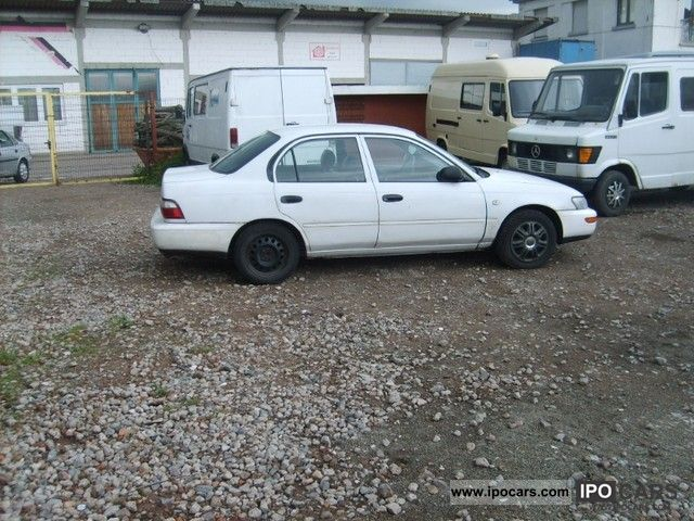 Toyota Corolla 1.6 1996 photo - 8