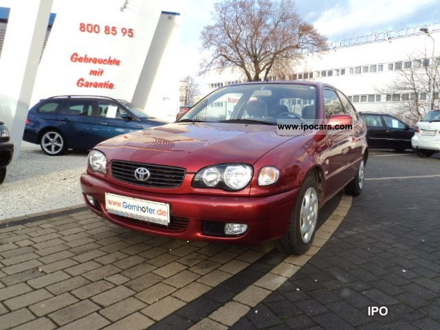 Toyota Corolla 1.6 2002 photo - 1