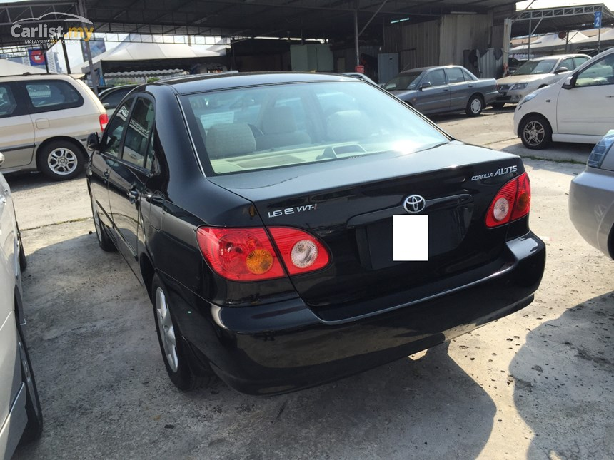 Toyota Corolla 1.6 2004 photo - 9