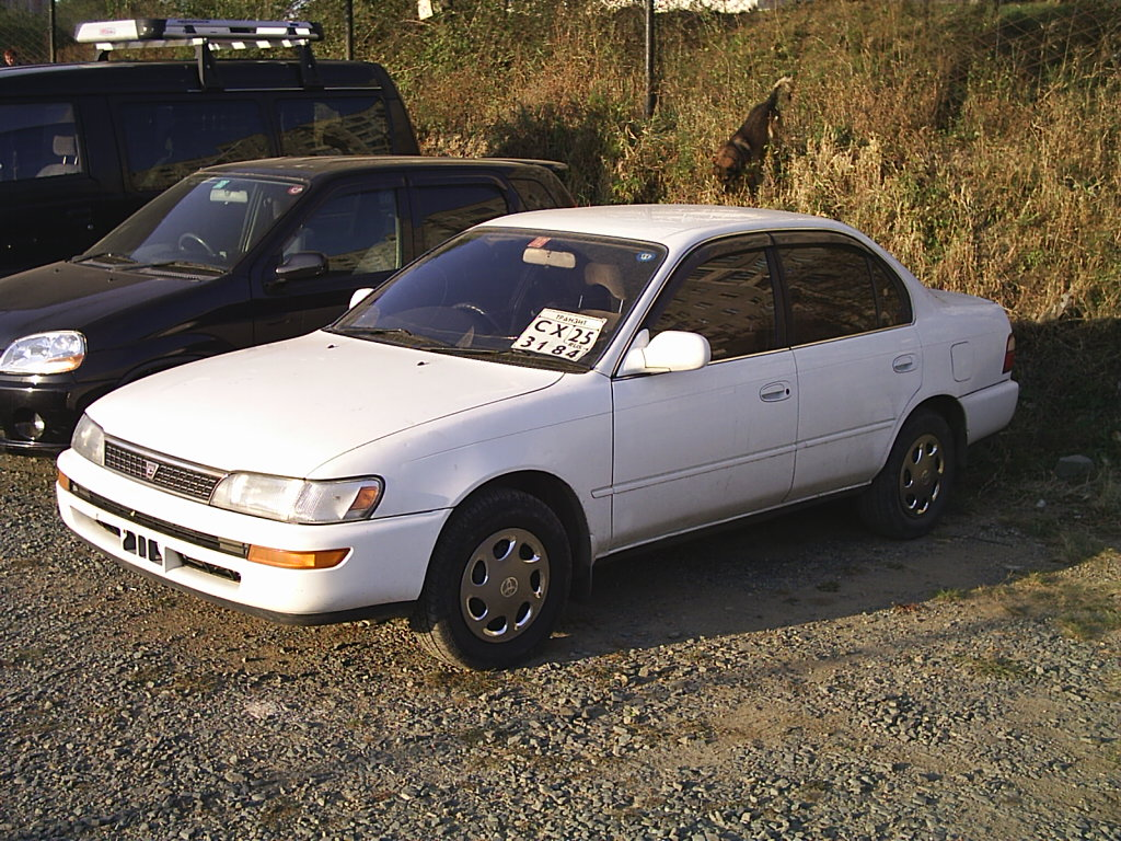 Toyota Corolla 1.8 1992 photo - 2
