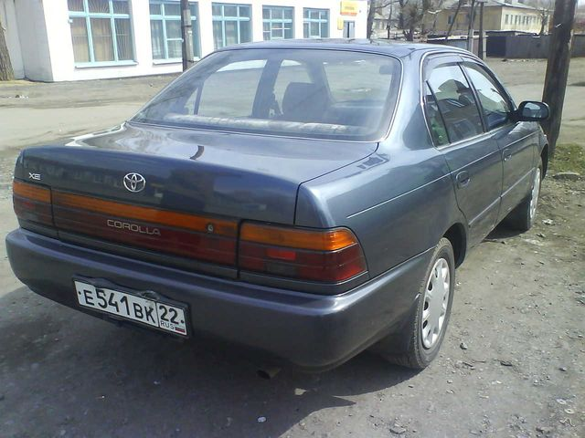 Toyota Corolla 1.8 1992 photo - 5