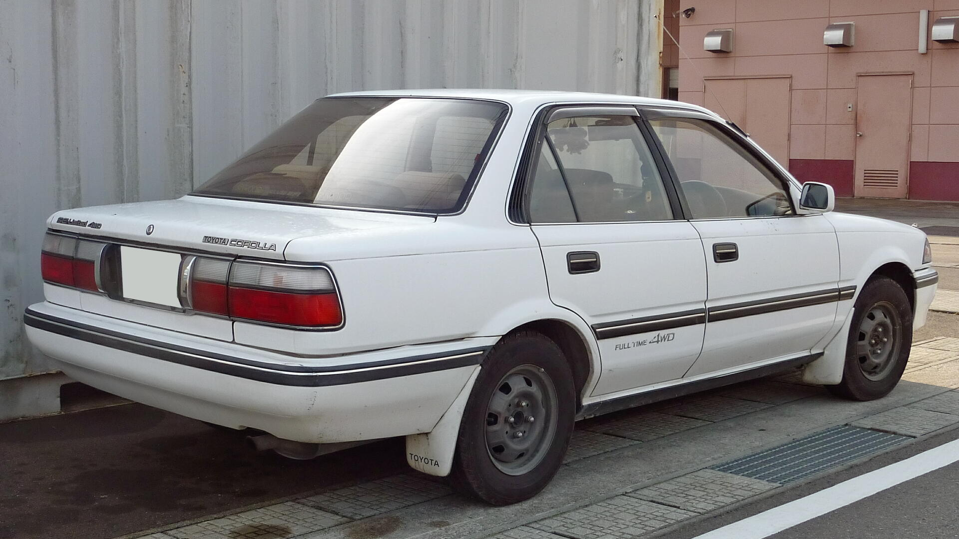 Toyota Corolla 2.0 1989 photo - 1