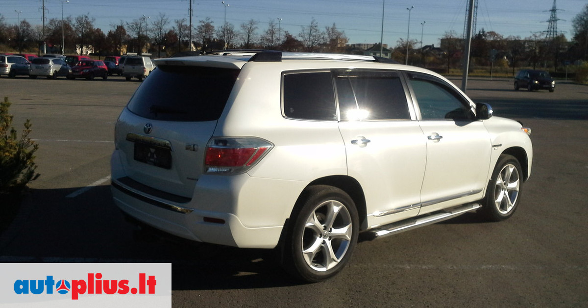 Toyota Highlander 3.5 2012 photo - 1
