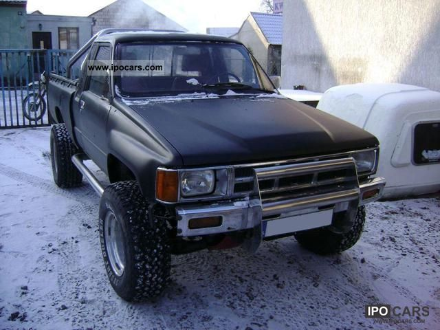 Toyota Hilux 1.8 1990 photo - 11