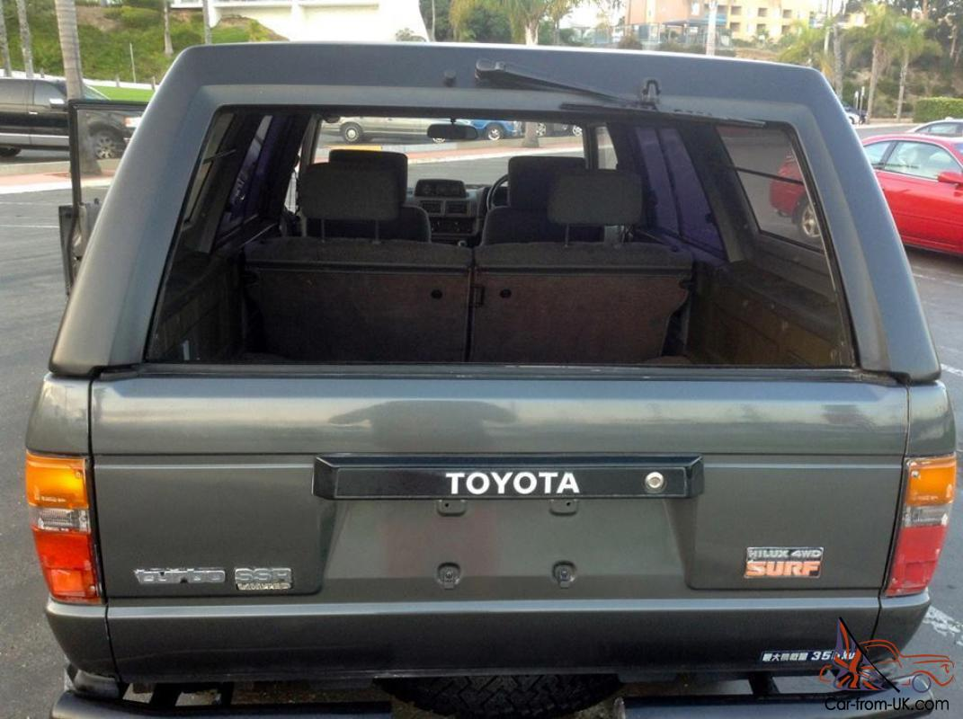 Toyota Hilux 2.4 1987 photo - 11