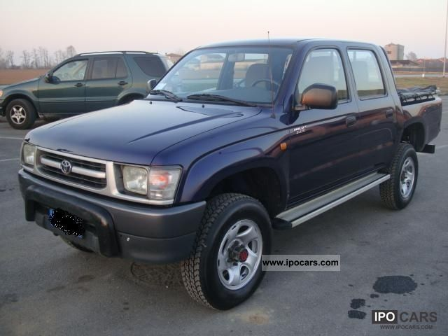 Toyota Hilux 2.4 1999 photo - 5