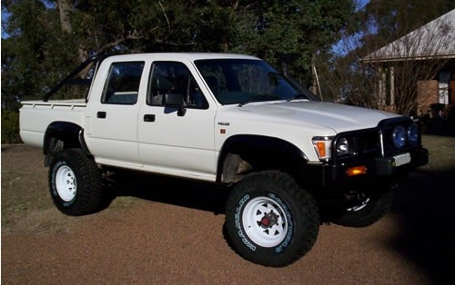 Toyota Hilux 2.8 1991 photo - 4