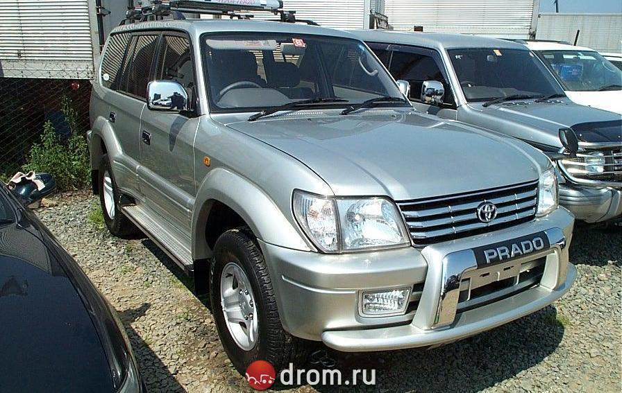 Toyota Land Cruiser Prado 2.7 1996 photo - 7