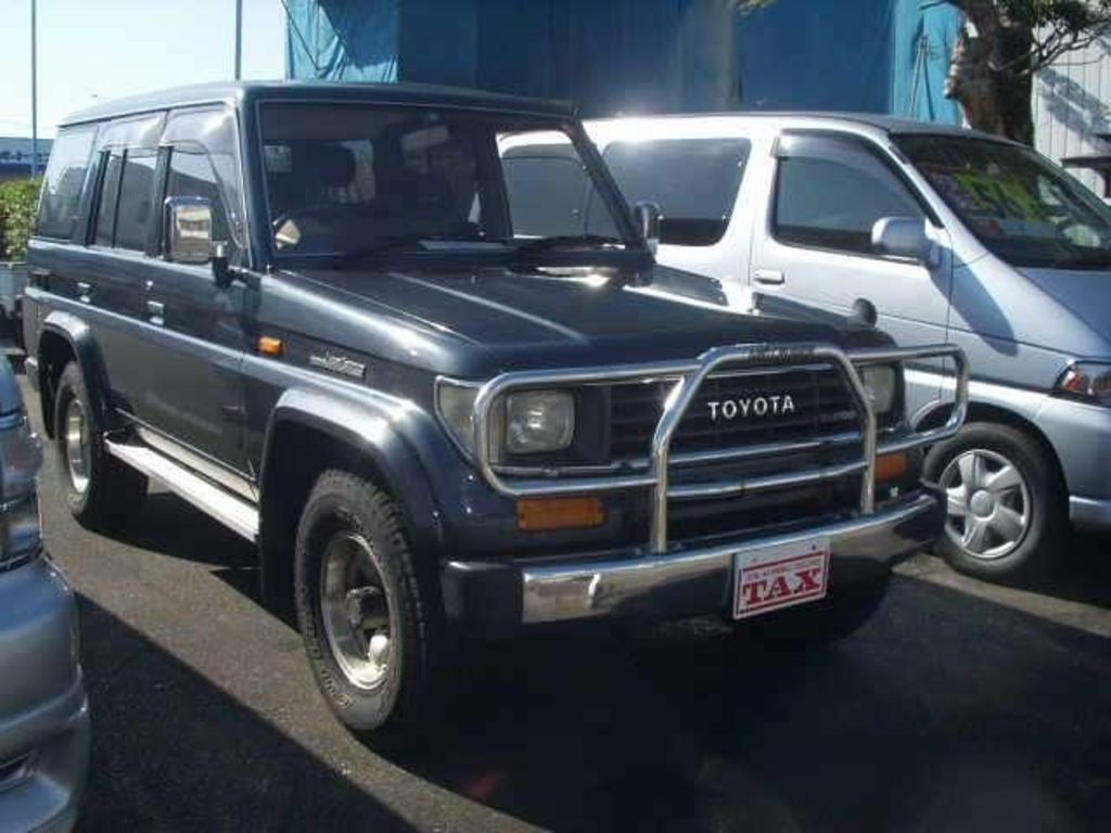 Toyota Land Cruiser Prado 3.0 1992 photo - 5