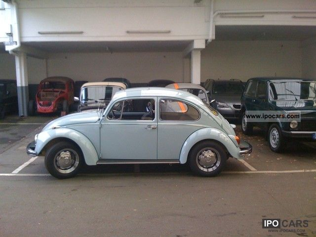 Volkswagen Beetle 1.5 1968 photo - 9