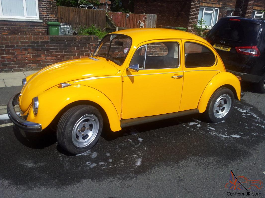 Volkswagen Beetle 1.6 1973 photo - 8