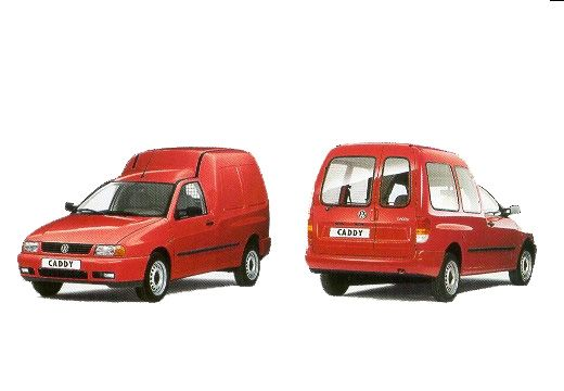Volkswagen Caddy 1.9 1996 photo - 2