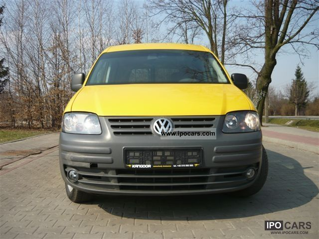 Volkswagen Caddy 1.9 2005 photo - 2