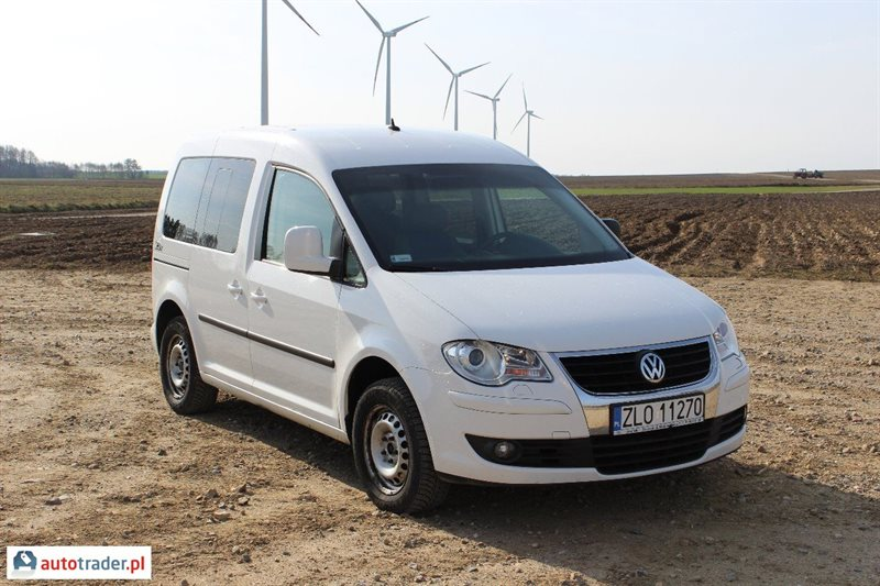 Volkswagen Caddy 1.9 2005 photo - 6
