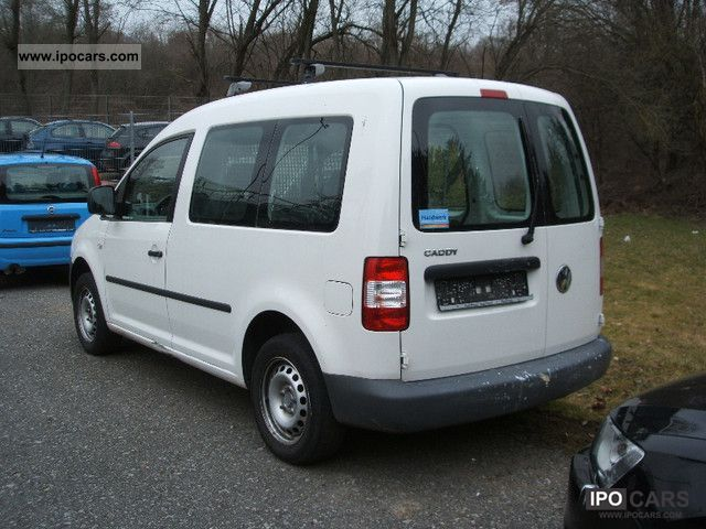 Volkswagen Caddy 1.9 2008 photo - 1