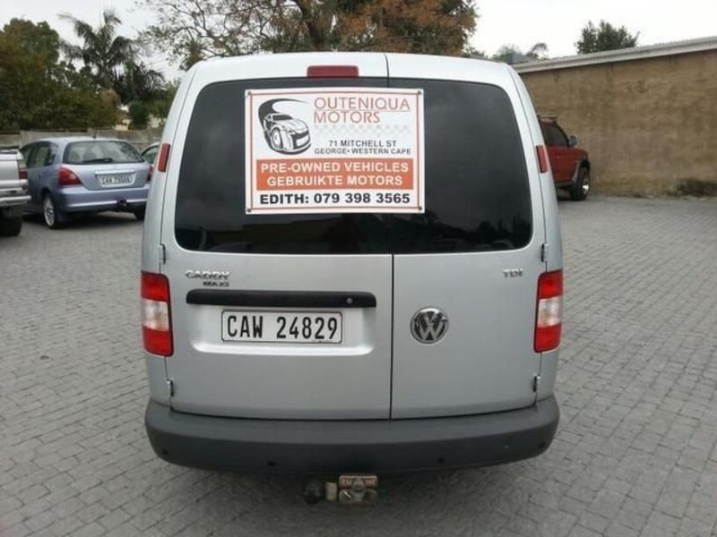 Volkswagen Caddy 1.9 2008 photo - 11