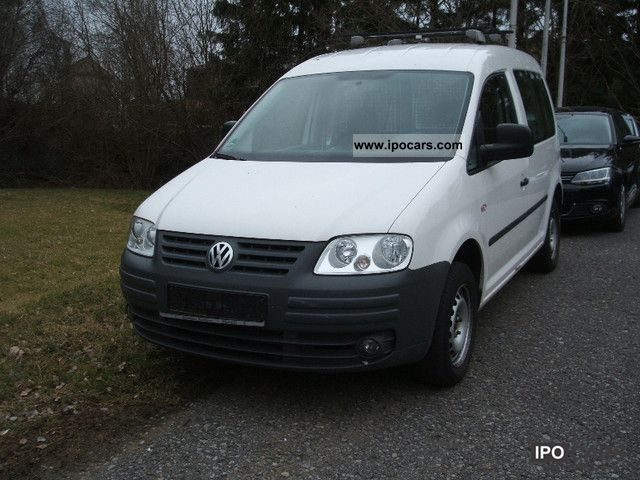 Volkswagen Caddy 1.9 2008 photo - 3