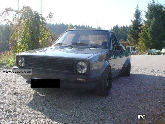 Volkswagen Caddy 2.0 1992 photo - 3