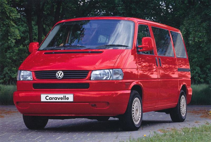 Volkswagen Caravelle 2.4 1997 photo - 8