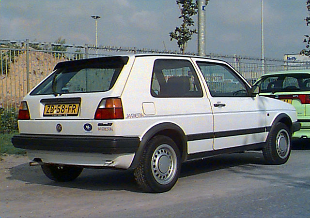 Volkswagen Golf 1.8 1986 photo - 1