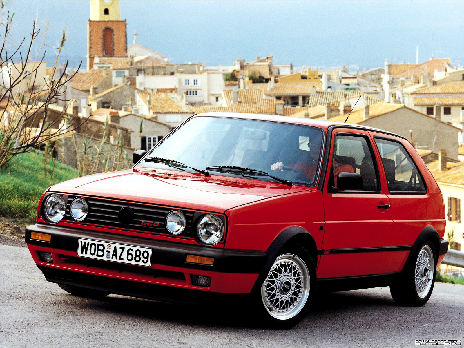 Volkswagen Golf 1.8 1990 photo - 1