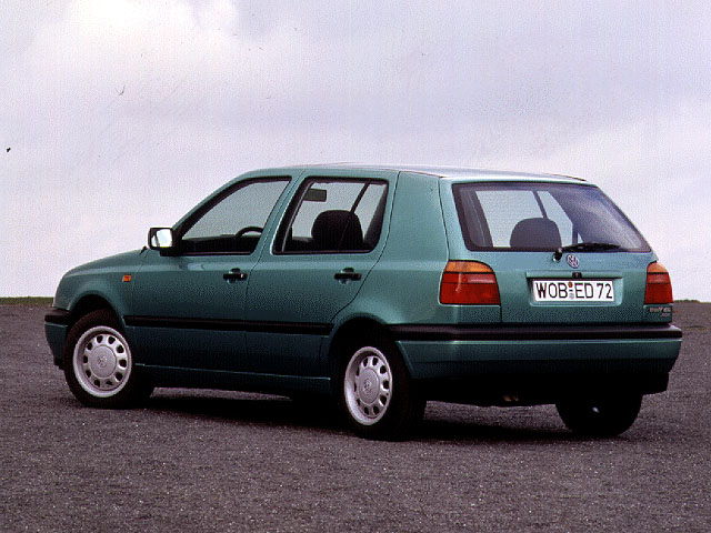 Volkswagen Golf 2.9 1996 photo - 2