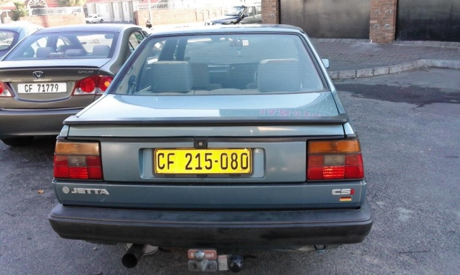 Volkswagen Jetta 1.8 1990 photo - 4