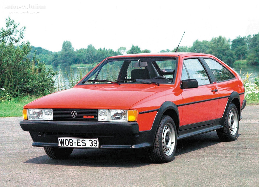 Volkswagen Scirocco 1.5 1986 photo - 2