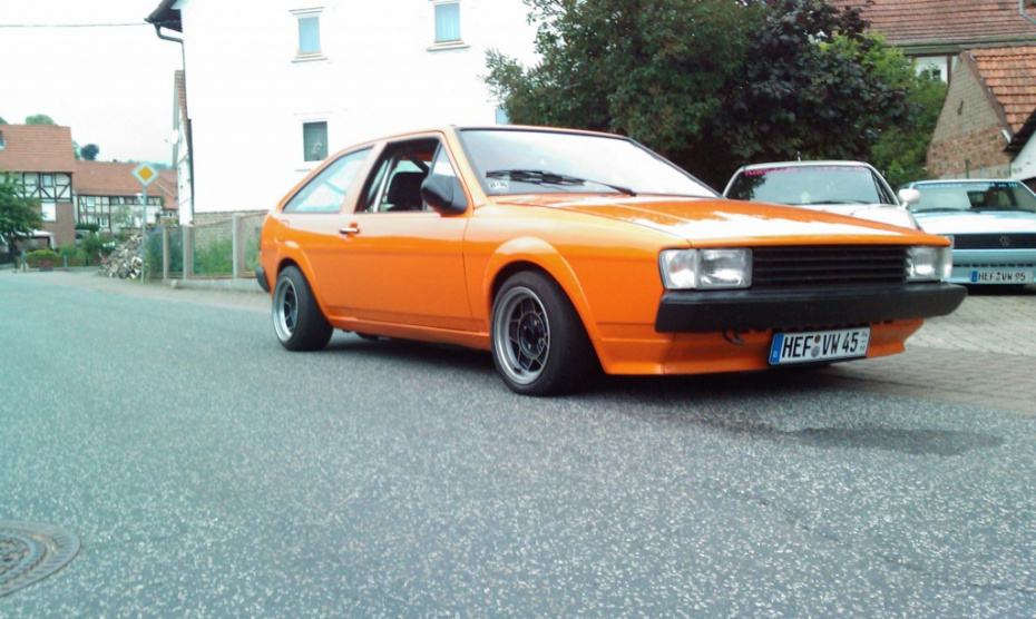 Volkswagen Scirocco 1.5 1986 photo - 9