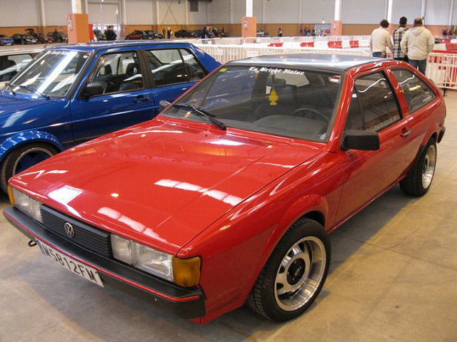 Volkswagen Scirocco 1.6 1983 photo - 9