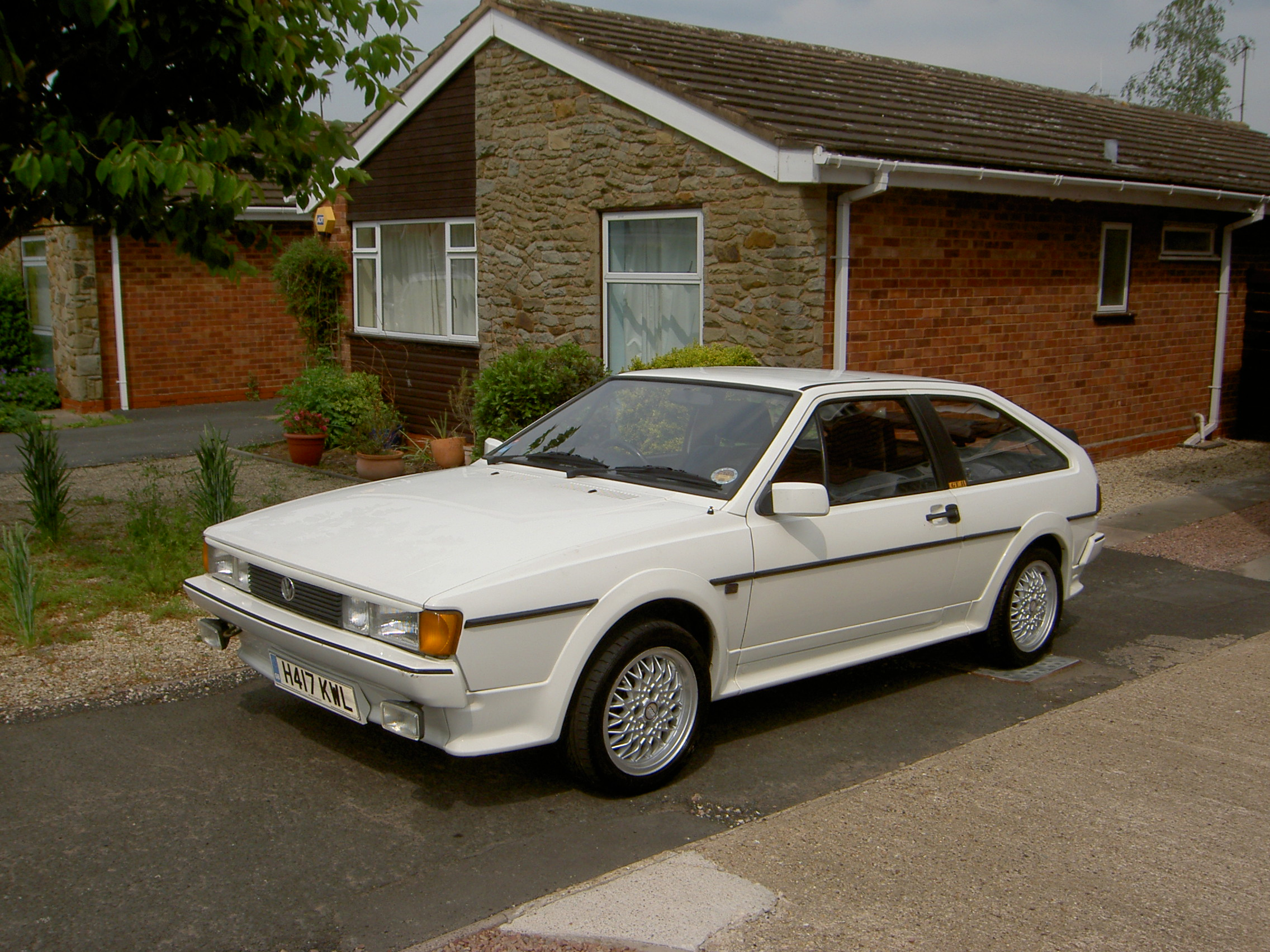 Volkswagen Scirocco 1.8 1991 photo - 2