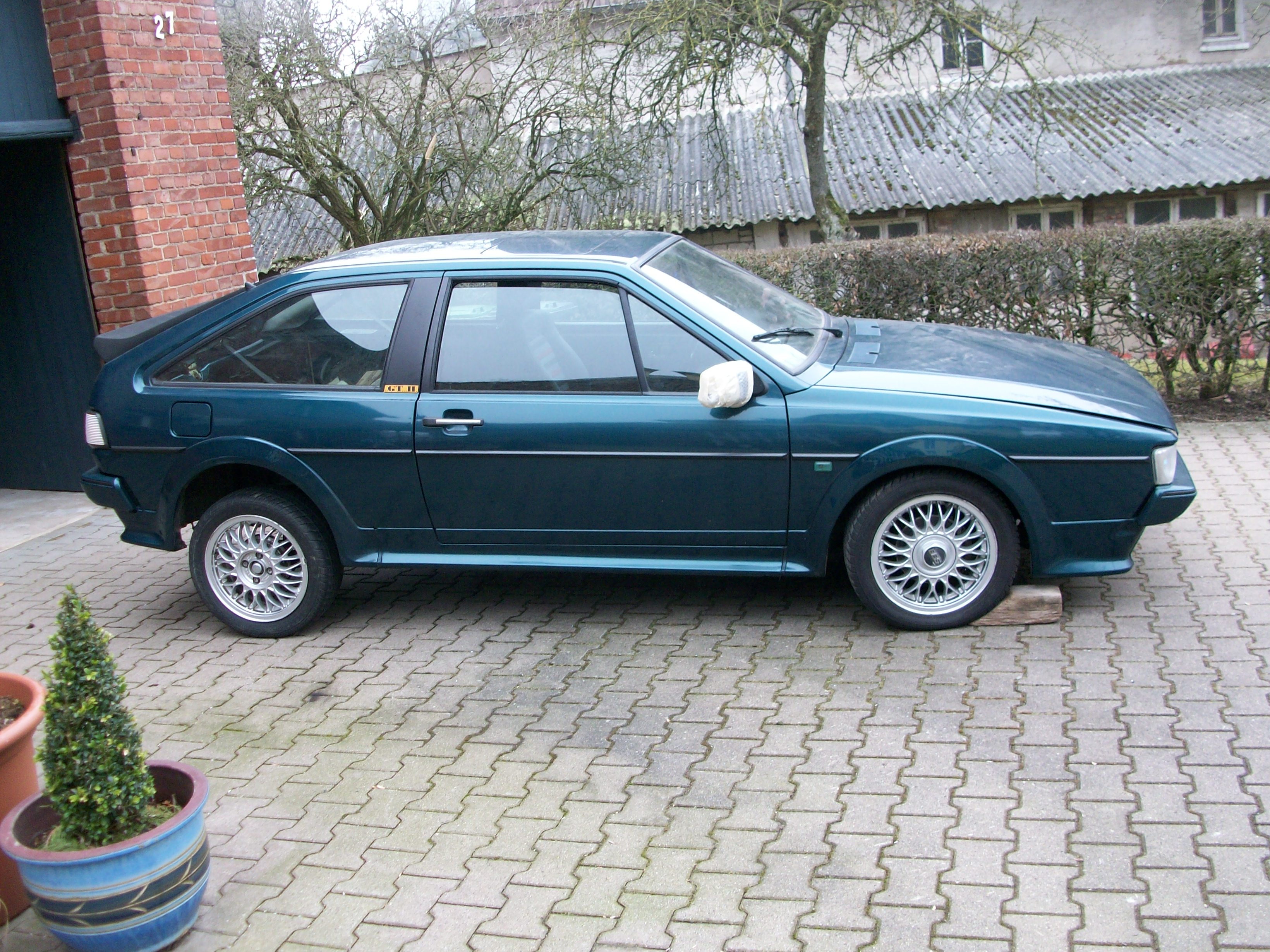 Volkswagen Scirocco 1.8 1991 photo - 3