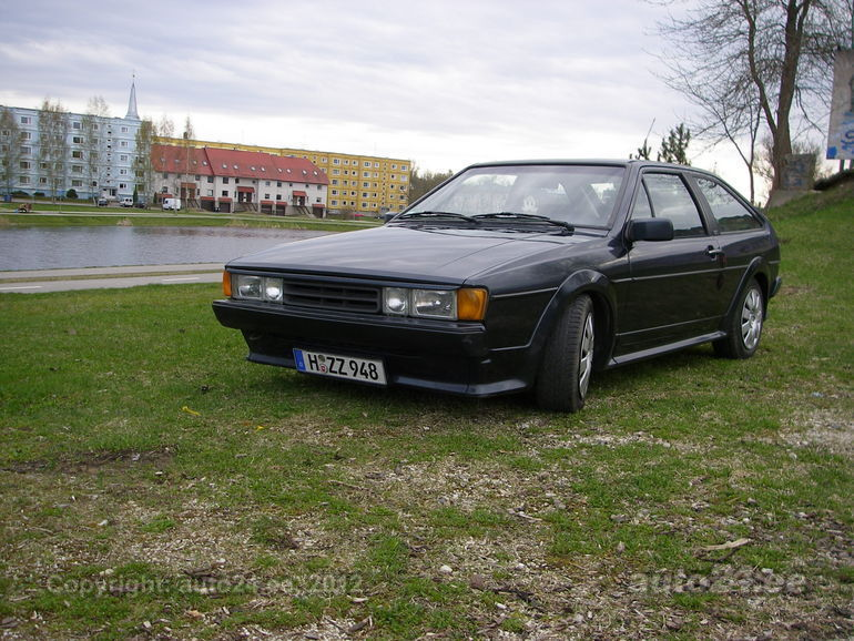 Volkswagen Scirocco 1.8 1991 photo - 7