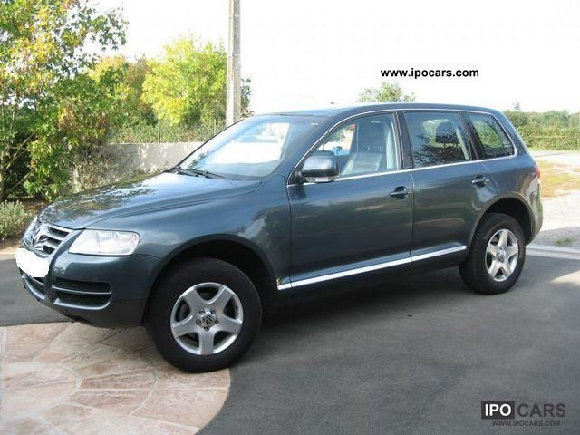 Volkswagen Touareg 2.5 2004 photo - 6